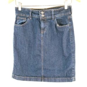 **3/$15** Old Navy size 4 jean skirt
